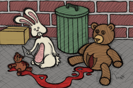 Teddy Bear and the Bunny - The Abortion by Brett Gilbert