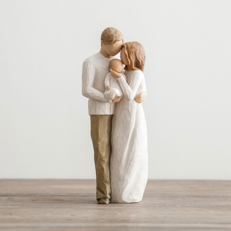 Figurine Couple With Baby