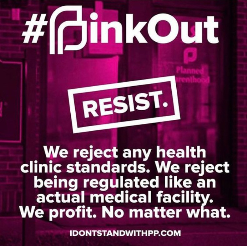 Planned Parenthood Pink Out