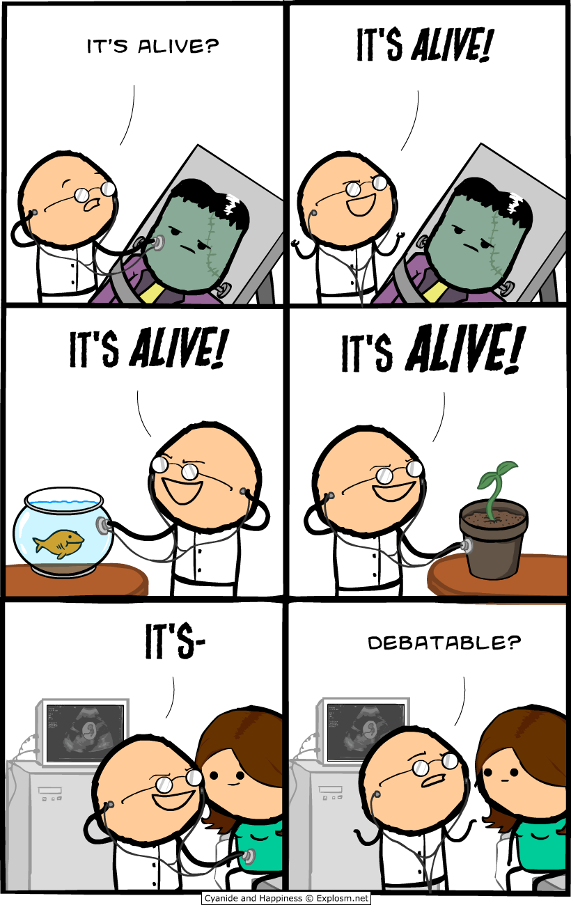 Cyanide Comics It's Alive