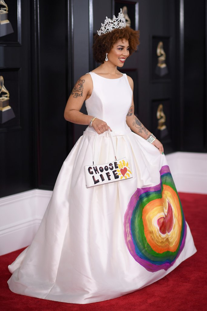 Joy Villa Grammy Awards Dress