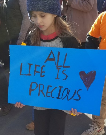March for Life 2018 Life is Precious