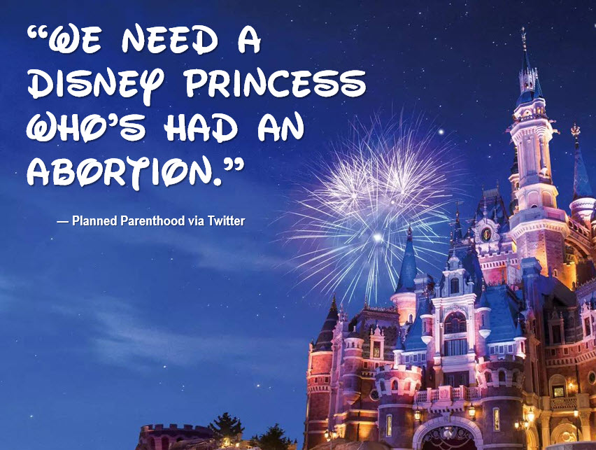 Planned Parenthood Disney Abortion