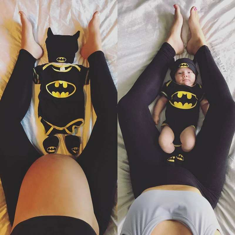 Bat Cave Baby Before and After