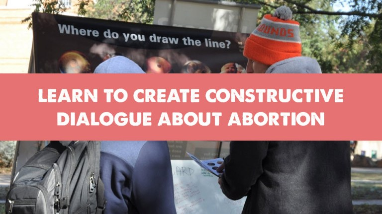 Constructive Dialogue About Abortion
