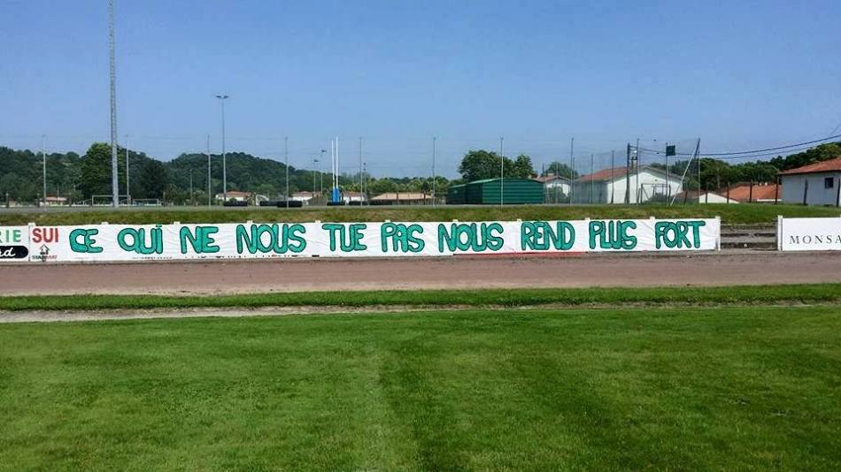 cultureSPORT Peyrehorade supporters banderole
