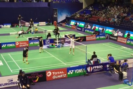 La timeline : Internationaux de France de badminton