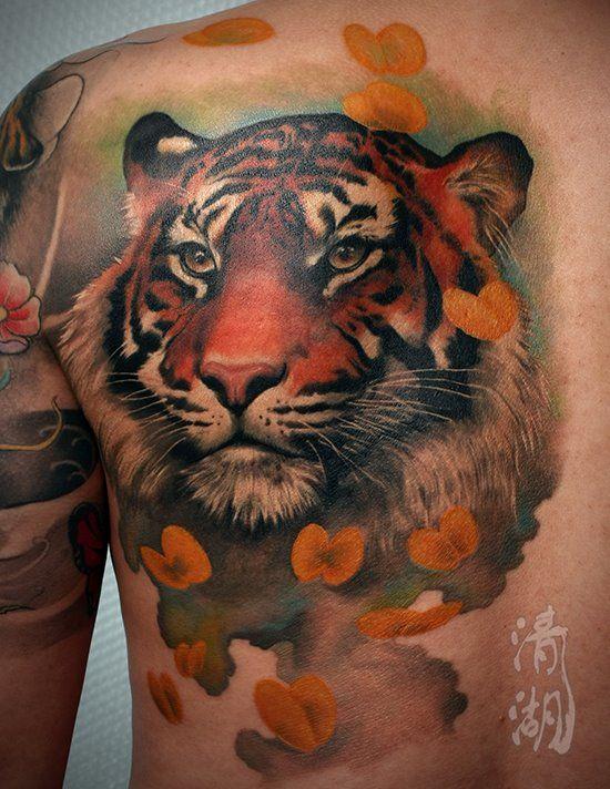 Tatuajes De Tigres Las Mejores Fotos De La Web