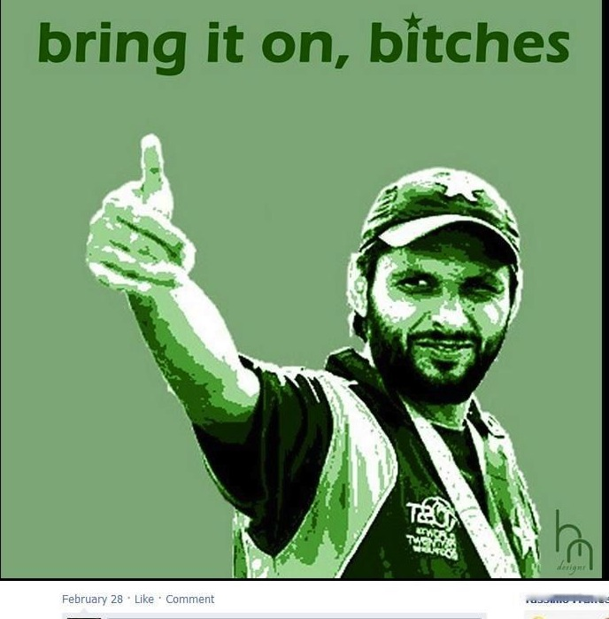 Pakistan's crush on Shahid Afridi | pinkkaage