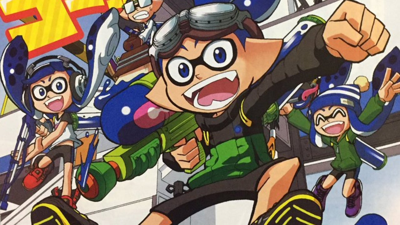 Splatoon le manga
