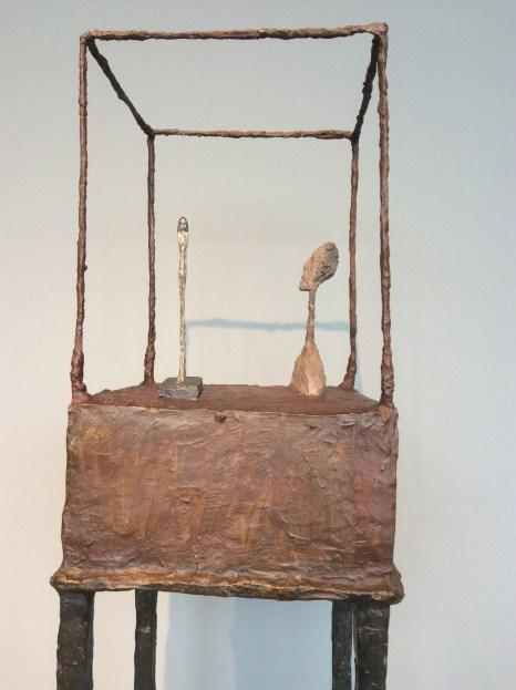 """Alberto Giacometti, """"La cage""""."""