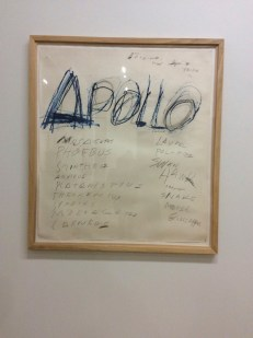 "Twombly, ""Apollo"", 1975"