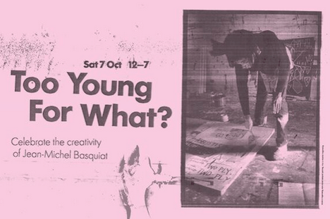 'Too Young For What?': Talking Basquiat with Poet in the City, Paula Varjack, and Jacob Sam-La Rose