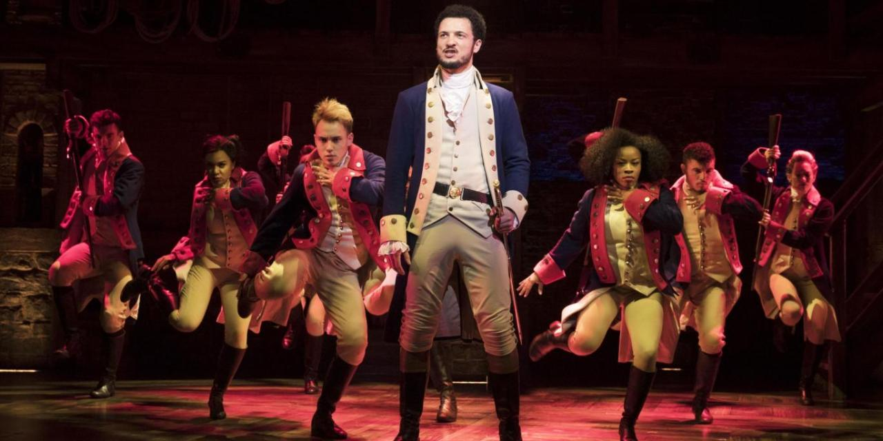 Drop the mic Jamael Westman: 'Hamilton' at the Victoria Palace Theatre