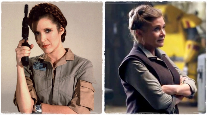 princesa leia_general organa_carrie fisher