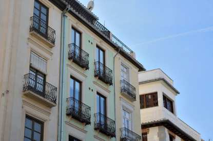 Building in Granada, Spain