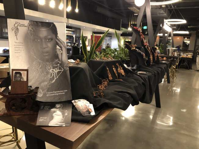 Jewelry, Coppertone Signature, Cuturs Launch Party, Diedre Hardin