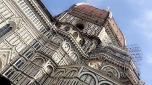 Worms view of Cathedral of Florence