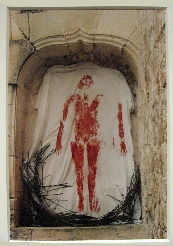 Ana Mendieta Untitled from Silueta Series