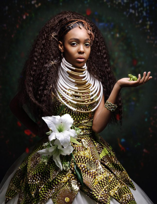 LaChanda Gatson's  vision of African American Princesses