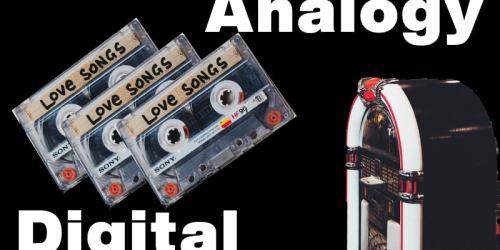 類比音樂(Analogy)與數位音樂(Digital):老土到新潮,是老土?還是復古?