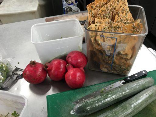 pomegranate cucumber