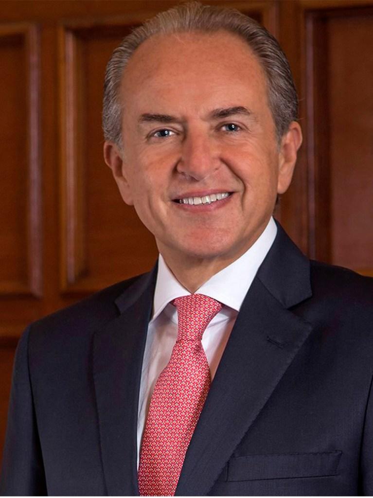 Juan Manuel Carreras - Gobernador de San Luis Potosí. Presente 1a Cumbre Internacional del Agua 2020
