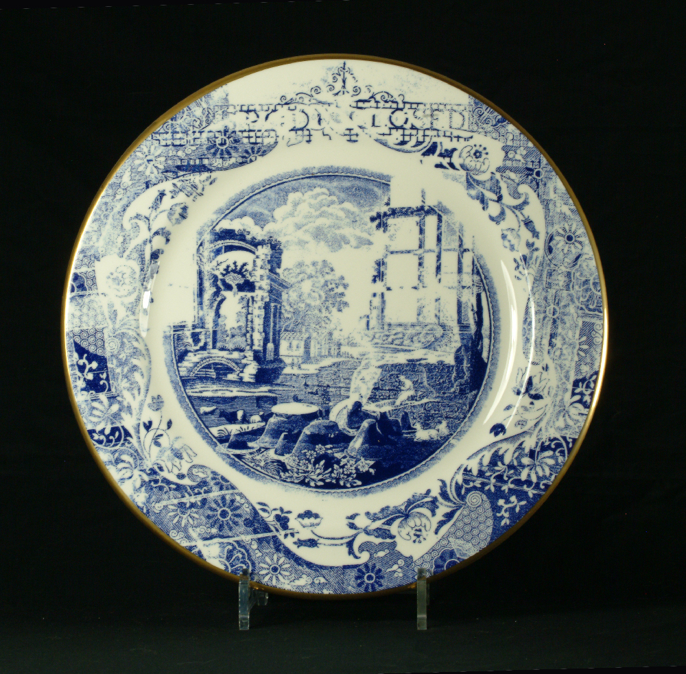 Scott's Cumbrian Blue(s) Spode Works Closed, Murray Curvex