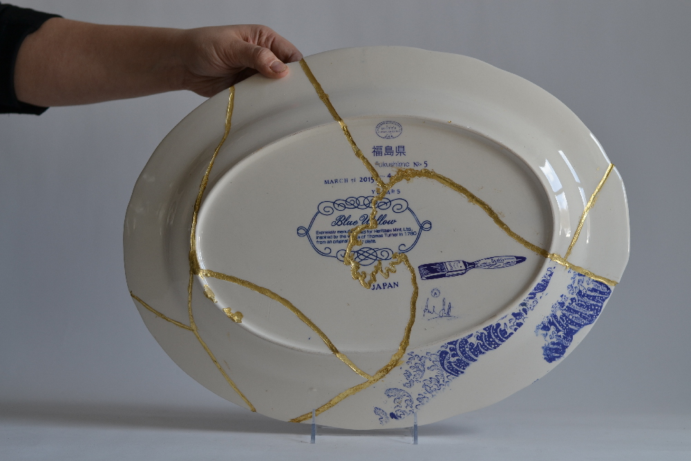 Back of Scott's Cumbrian Blue(s) Fukushima No:5