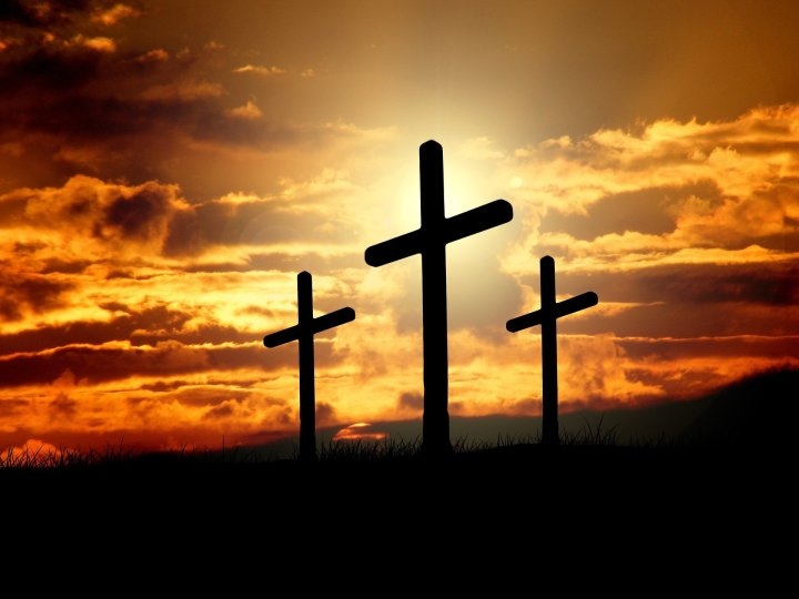 Cross, Sunset, Good Friday
