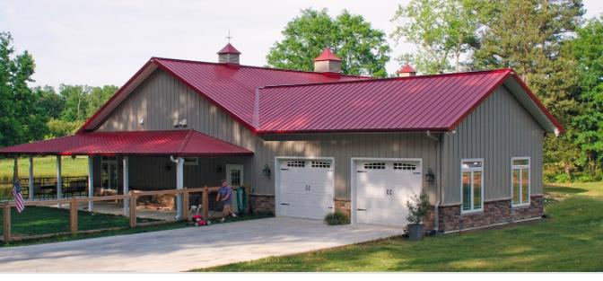 Metal Building Home - Custom Builds
