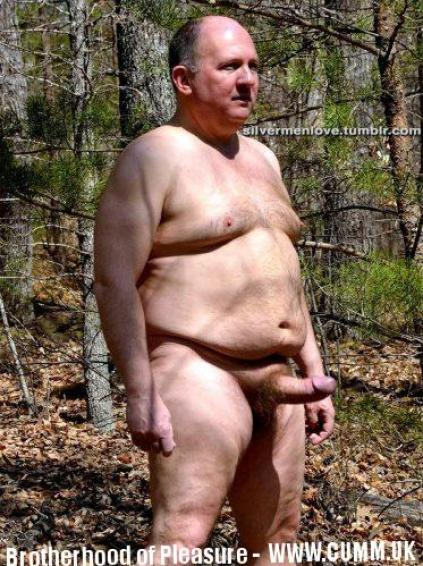 mature chubby man cock beauty