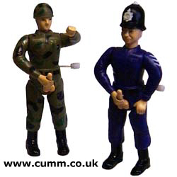 cop army wankers