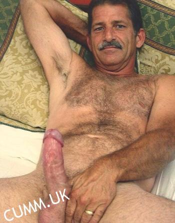 daddy bear big cock beauty
