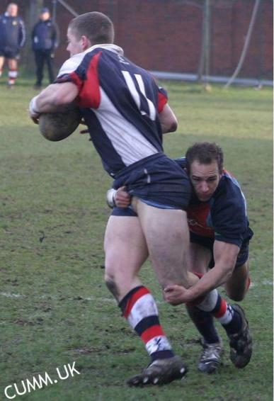 young bisexual british rugby