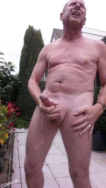 Naked Old men Show their big cocks spunking