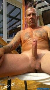 hung daddy erection