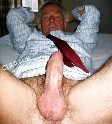 old man big cock in suit businessman