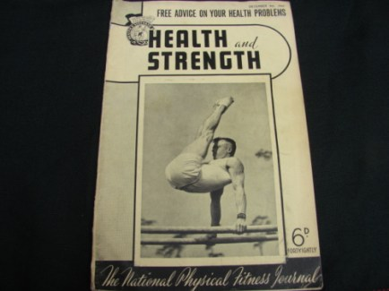 Health and Strength vintage muscle beefcake 1949