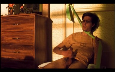 James Ransone jerking his penis