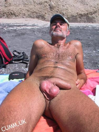 beautiful cock on a very hot daddy