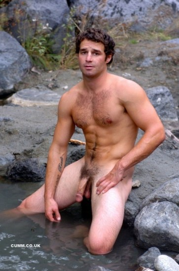 cock-washing-outdoors