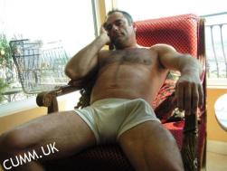 daddy jock huge bulge exposed