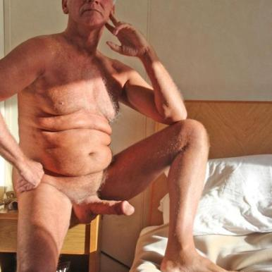 gay blessing silver daddy dick