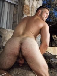 Paul Wagner's hot hairy butt his hot hairy hole