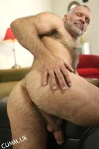 hairy arse silver daddy