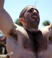 hairy male armpit hung