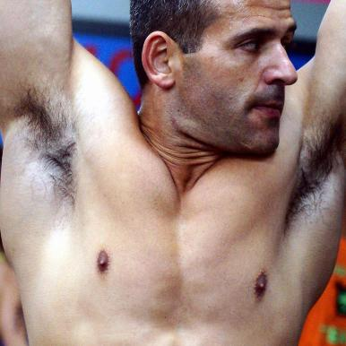 hairy male armpit wrestlers pit