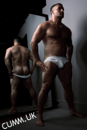 jocks down exposed rugby ass