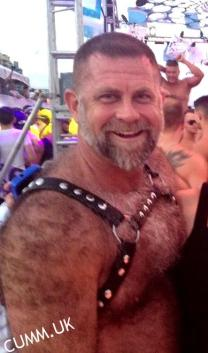 leather daddy happy